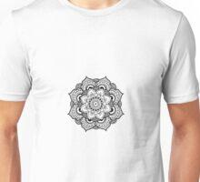 Detailed Mandala Flower Unisex T-Shirt