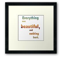 Everything was Beautiful IV Framed Print