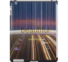 Everything was Beautiful VI iPad Case/Skin