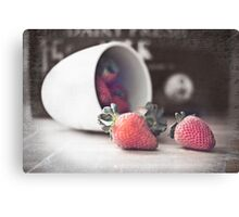 Sweet life Canvas Print