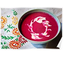 Beetroot Soup Poster