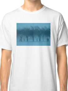 Winter Scene The Meadows Edinburgh Scotland UK Classic T-Shirt