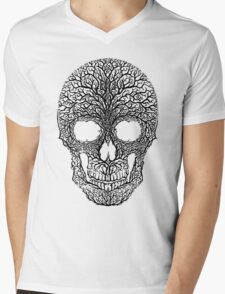 Anthropomorph I (black on white) Mens V-Neck T-Shirt