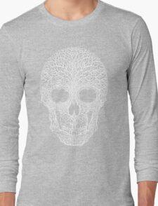 Anthropomorph I (white on black) Long Sleeve T-Shirt