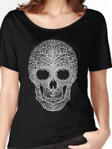 Anthropomorph I (white on black) Women's Relaxed Fit T-Shirt
