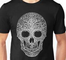 Anthropomorph I (white on black) Unisex T-Shirt