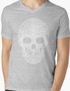 Anthropomorph I (white on black) Mens V-Neck T-Shirt