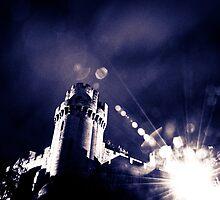 warwick medieval  castle england by siobhanelizabet