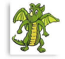 Baby Dragon Leo Canvas Print