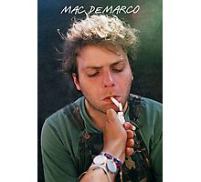 Mac Demarco Cig Photographic Print