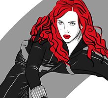 "Natasha ""Black Widow"" Romanoff by DoctorSnippet"