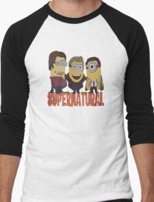 MINIONS T-shirt SUPERNATURAL Men's Baseball ¾ T-Shirt