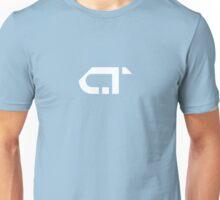 COMATONE LOGO - WHITE  Unisex T-Shirt