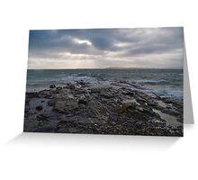 Isle of Berneray Outer Hebrides Scotland UK Greeting Card