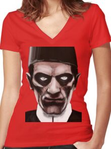 IMHOTEP ! Women's Fitted V-Neck T-Shirt
