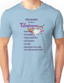 Reasons to be a Unicorn Unisex T-Shirt