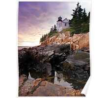 Bass Harbor Head Lighthouse - Portrait Poster