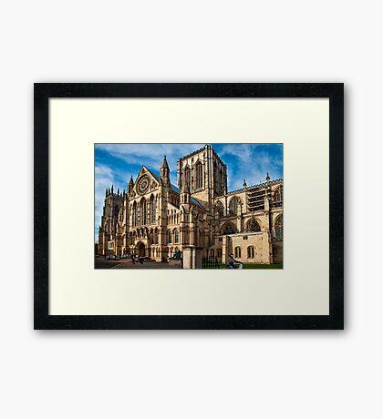 York Minster Framed Print