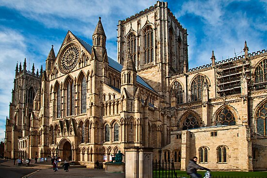 York Minster by Ray Clarke