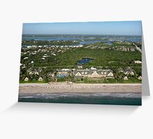 From Coast to Lagoon Greeting Card