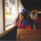 Train Ride In The Rockies by Linda Miller Gesualdo