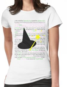 No One Mourns the Wicked Womens Fitted T-Shirt