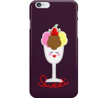 Cute Fun Ice Cream Sundae Sweet iPhone Case/Skin