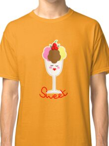 Cute Fun Ice Cream Sundae Sweet Classic T-Shirt