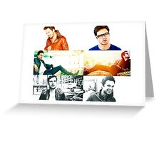 Sebastian Stan Collection Greeting Card