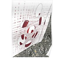 Abstract and Stone Poster
