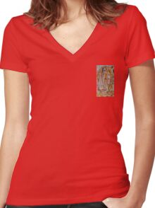 Paint The Town Women's Fitted V-Neck T-Shirt