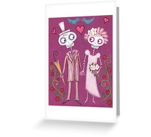 Skelly Sweethearts Greeting Card