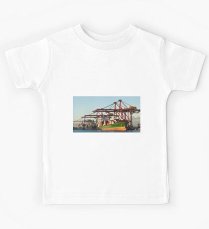 0951 Container Terminal Melbourne Kids Tee