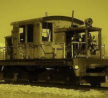 Ole Rusty on the Tracks by RockyWalley