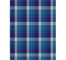 00447 Bannockbane Light Blue Tartan  Photographic Print