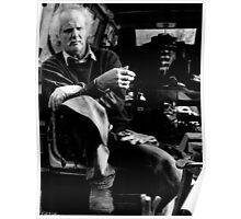 Informal portrait of a farrier (35mm) Poster