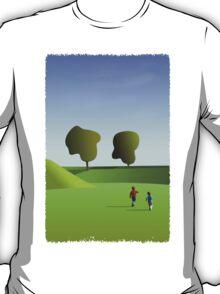 Kidz love to run in Copenhagen... (T-Shirt) T-Shirt