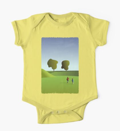 Kidz love to run in Copenhagen... (T-Shirt) Kids Clothes