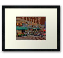Cafe de la Paix Framed Print