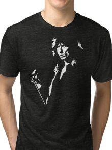 David Coverdale stencil Tri-blend T-Shirt