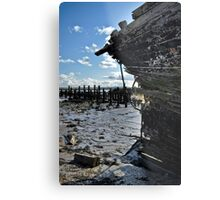 Ruined Hulk Metal Print