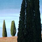 Together and Alone-Tuscany by Deborah Downes