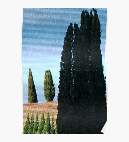 Together and Alone-Tuscany Poster