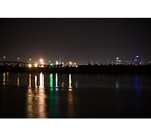 Lights Over Water Photographic Print