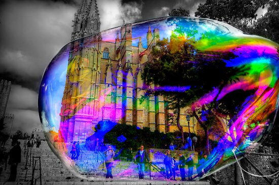 Basilica in a Bubble by Luke Griffin