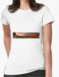 A beautiful countryside Womens Fitted T-Shirt