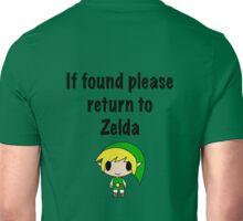 If Found, Please Return to Zelda Unisex T-Shirt