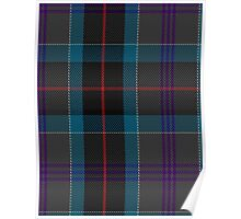 00448 Beauty Firth and Glens Tartan  Poster