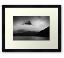 Cloud Wrap Framed Print