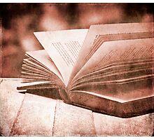 Open book Photographic Print